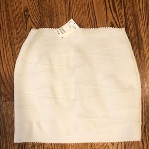 Fitted mini skirt!